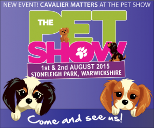 cavalier matters at the 2015 pet show