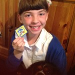 Emma and her Brownie Badge