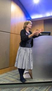 Penny Watson at Health Seminar 2014