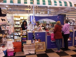 The Cavalier Matters Stand at Crufts 2014